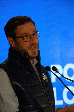 El portavoz del grupo popular en la Diputación de Jaén, Miguel Contreras,