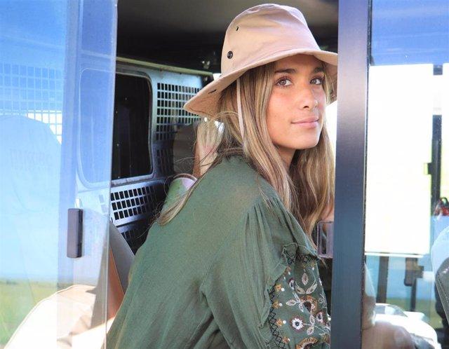 """Foto de archivo de María Pombo en """"viajes con B"""""""