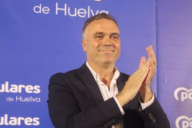 El vicepresidente del PP de Huelva y alcalde de La Palma del Condado, Manuel García Félix