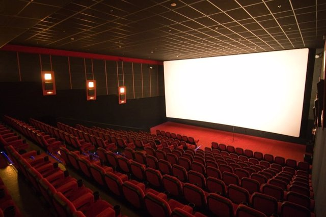 Una de las salas de los multicines de Cinesur El Tablero en Córdoba.