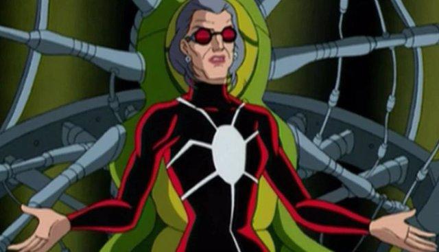 Madame Web en los comics de Marvel
