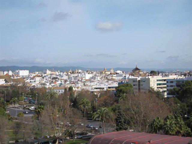Vista de la ciudad de Córdoba.