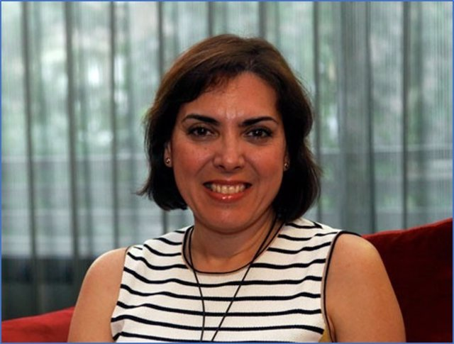 La presidenta de la AEGH, Encarna Guillén