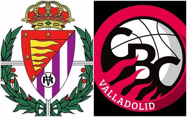 Escudos de Real Valladolid y Carramimbre CBC