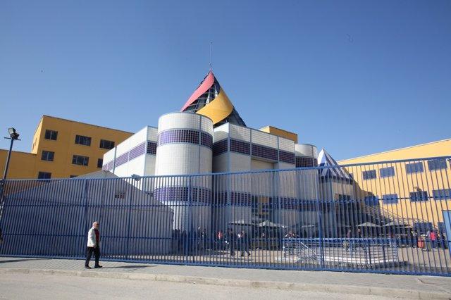 Imagen de archivo del Centro de Internamiento de Extranjeros, CIE, de Aluche (Madrid)