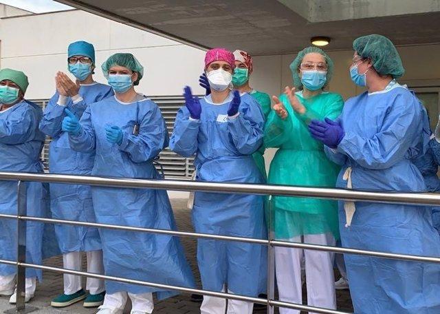 Profesionales sanitarios de Cantabria agradecen las muestras de apoyo de la ciudadanía