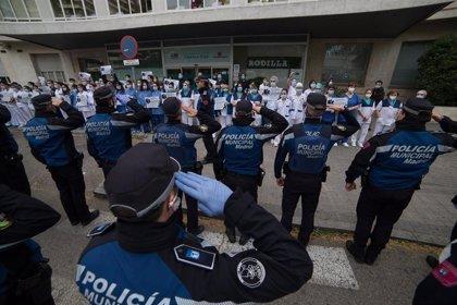 La Policía Municipal de Madrid se vuelca con una campaña de donación de sangre para los hospitales