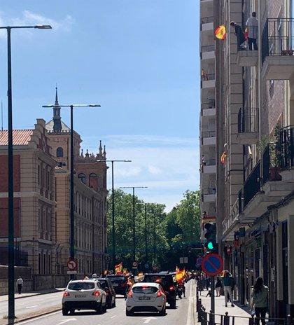 Más de 6.100 vehículos participan en las ciudades de CyL en la marcha contra el Gobierno