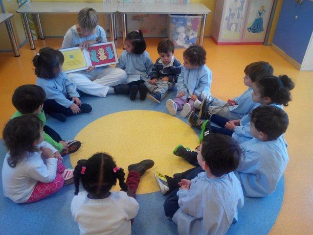 Niños en un centro de Educación Infantil, en una imagen de archivo