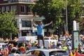 """Vox paraliza el centro de Madrid con miles de personas en coche que piden la """"dimisión"""" del Gobierno"""