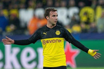 Götze abandonará el Borussia Dortmund a final de temporada