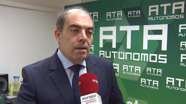 Presidente de ATA, Lorenzo Amor, en una foto de archivo.