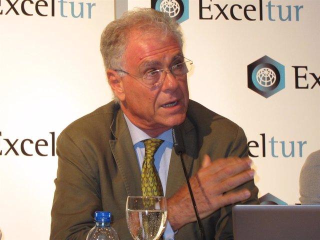 El vicepresidente ejecutivo de Exceltur, José Luis Zoreda