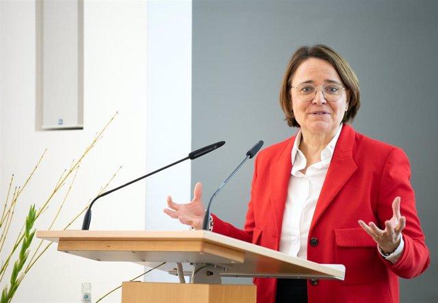 La delegada de Integración del Gobierno alemán, Annette Widmann-Mauzz