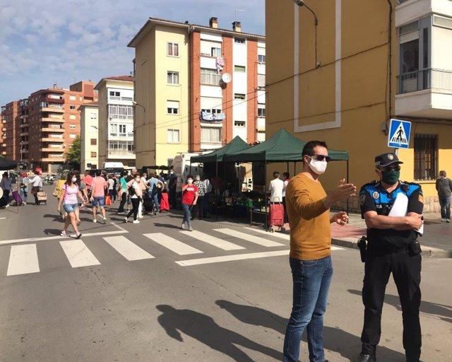Mercado ambulante de Teruel