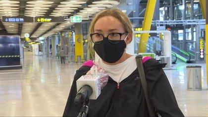 Regresan a Madrid algunos de los españoles atrapados en Colombia
