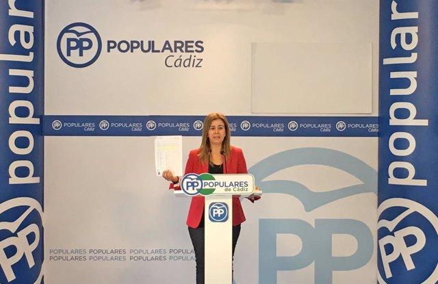 Teresa Ruiz-Sillero (PP), en una foto de archivo.