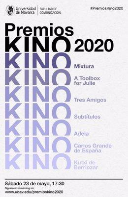 Cartel de los Premios Kino 2020