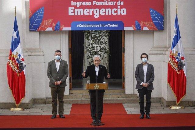 Coronavirus.- Chile anuncia el adelanto del pago del Ingreso Familiar de Emergen