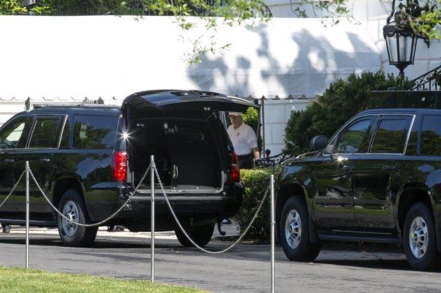 Coronavirus.- Donald Trump retoma sus partidos de golf tras más de dos meses de