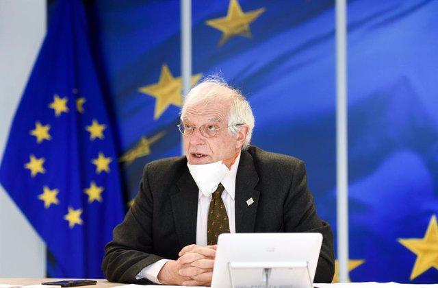 UE/Turquía.- Borrell aborda con el ministro de Exteriores turco la situación en