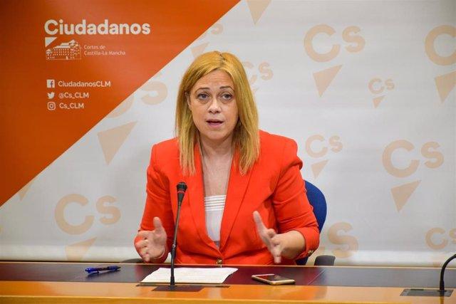 Portavoz de Cs en las Cortes, Carmen Picazo.