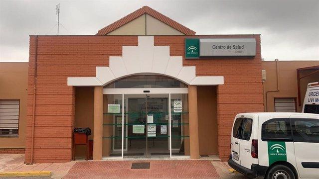 Centro de salud de Sorbas.