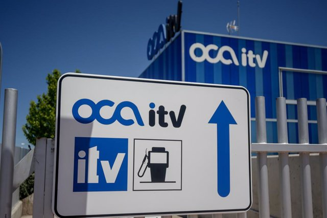 Instalaciones de la ITV La Oca en el polígono Ventorro del Cano en Alcorcón (Madrid)