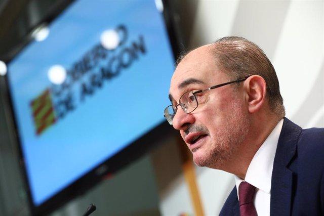 El Presidente de Aragón participa en la undécima videoconferencia de presidentes autonómicos con Pedro Sánchez por el coronavirus
