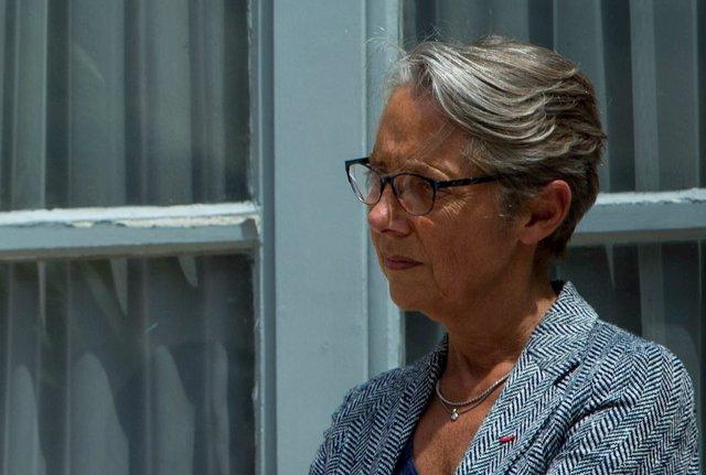 La ministra de Transición Ecológica e Inclusión del Gobierno francés, Élisabeth Borne