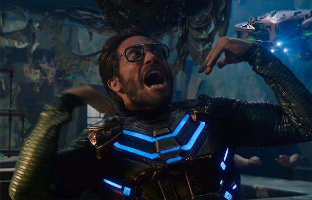Mysterio (Jake Gyllenhaal) en Spider-Man: Lejos de casa