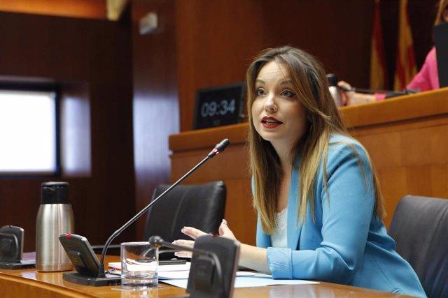 Foto de archivo de la consejera de Ciencia, Universidad y Sociedad del Conocimiento del Gobierno de Aragón, Maru Díaz.