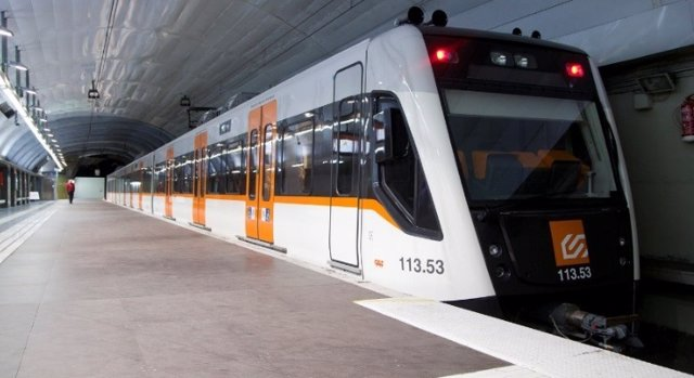 Imagen de recurso de un tren de FGC