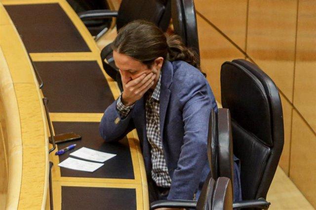 El vicepresidente segundo del Gobierno y ministro de Derechos Sociales y Agenda 2030, Pablo Iglesias
