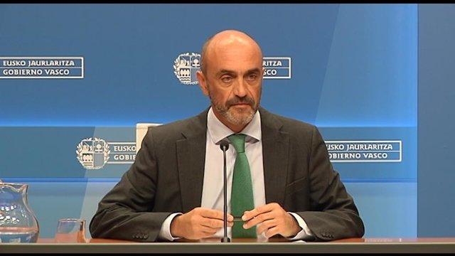 El director de Planificación, Ordenamiento y Evaluación Sanitaria, Mikel Sánchez.