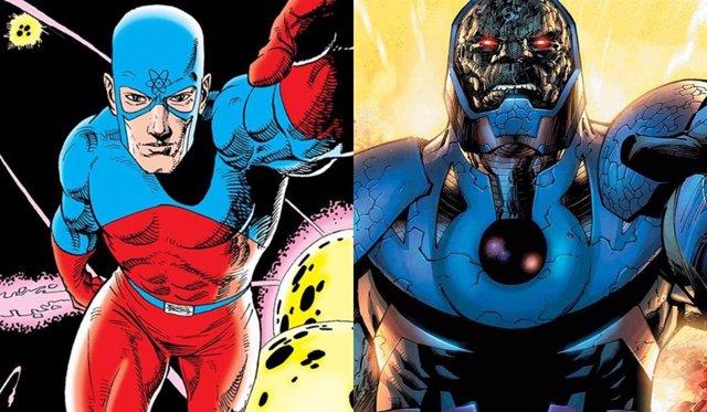 Darkseid Y Atom, Confirmados En Liga De La Justicia De Zack Snyder.