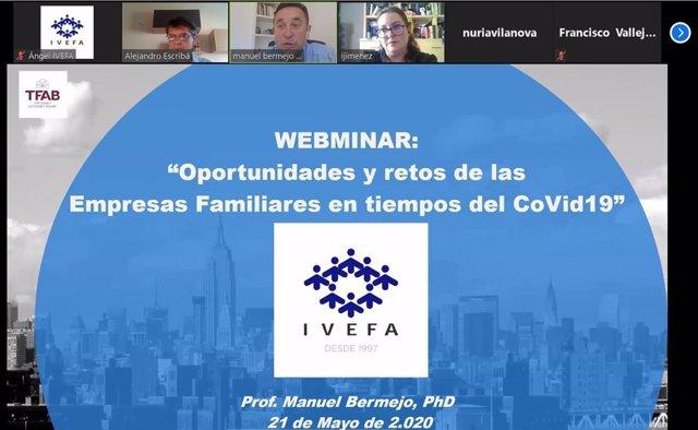 Webinar Oportunidades y retos de empresas familiares en tiempos de la Covid-19