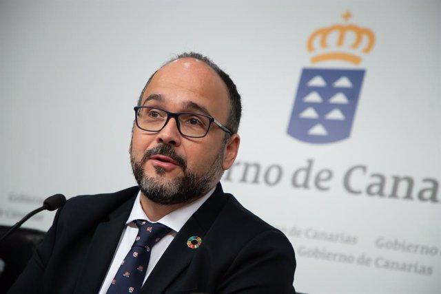 José Antonio Valbuena releva a María José Guerra al frente de la Consejería de E