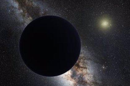 Còmo detectar el Planeta Nueve si fuera un agujero negro