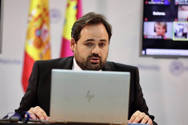 El presidente del PP de Castilla-La Mancha, Paco Núñez.