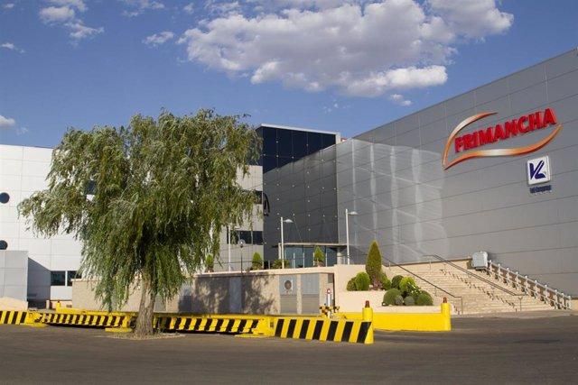 Imagen del centro de procesado de vacuno de la empresa Frimancha, ubicado en Valdepeñas (Ciudad Real)