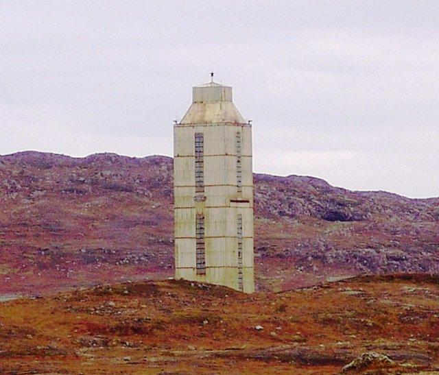 Estructura exterior del pozo superprofundo de Kola en 2007