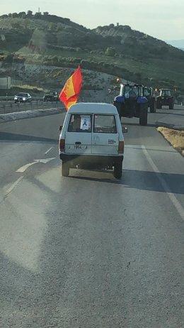 Vehículos entre Alcalá y Alcaudete