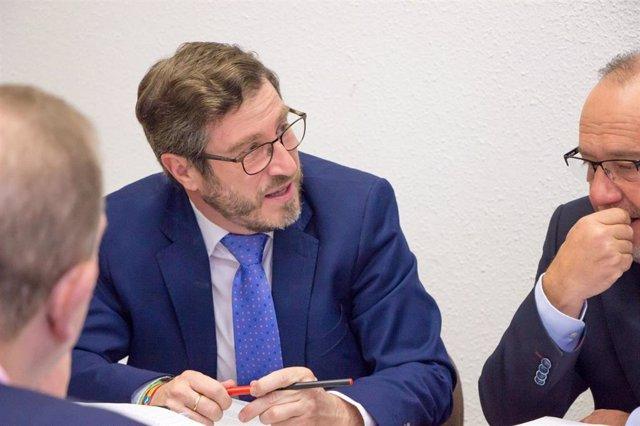 El portavoz del PP en la Diputación de Jaén, Miguel Contreras