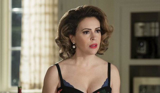 Alyssa Milano en Insaciable