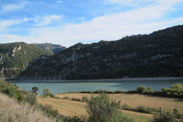 Los embalses de la cuenca del Ebro se encuentran al 91% de su capacidad total