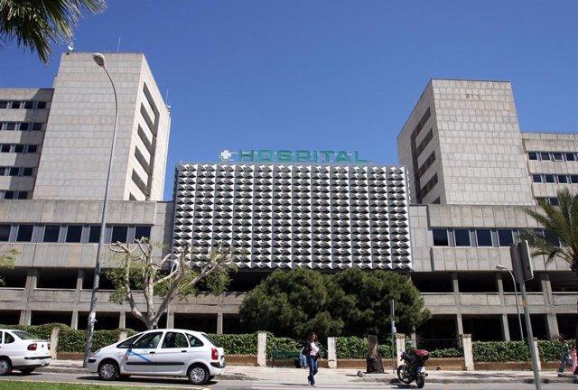 Exterior del Hospital Materno Infantil de Málaga
