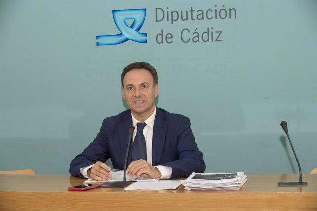 Davir de la Encina, responsable provincial de Bienestar Social en la Diputación de Cádz