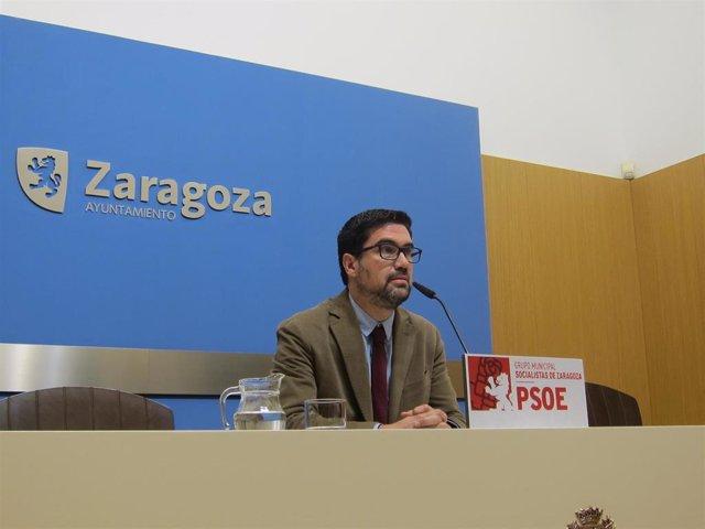 El portavoz del grupo municipal del PSOE, Horacio Royo