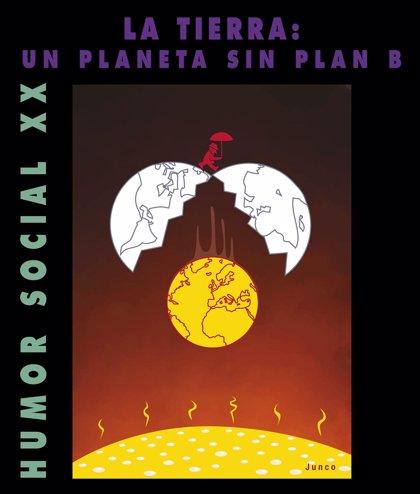La Muestra de Humor Social de la UA celebra sus 20 años con la exposición 'La Tierra: un planeta sin plan B'